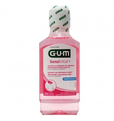 GUM SENSIVITAL + COLLUTORIO 300 ML - Iltuobenessereonline.it