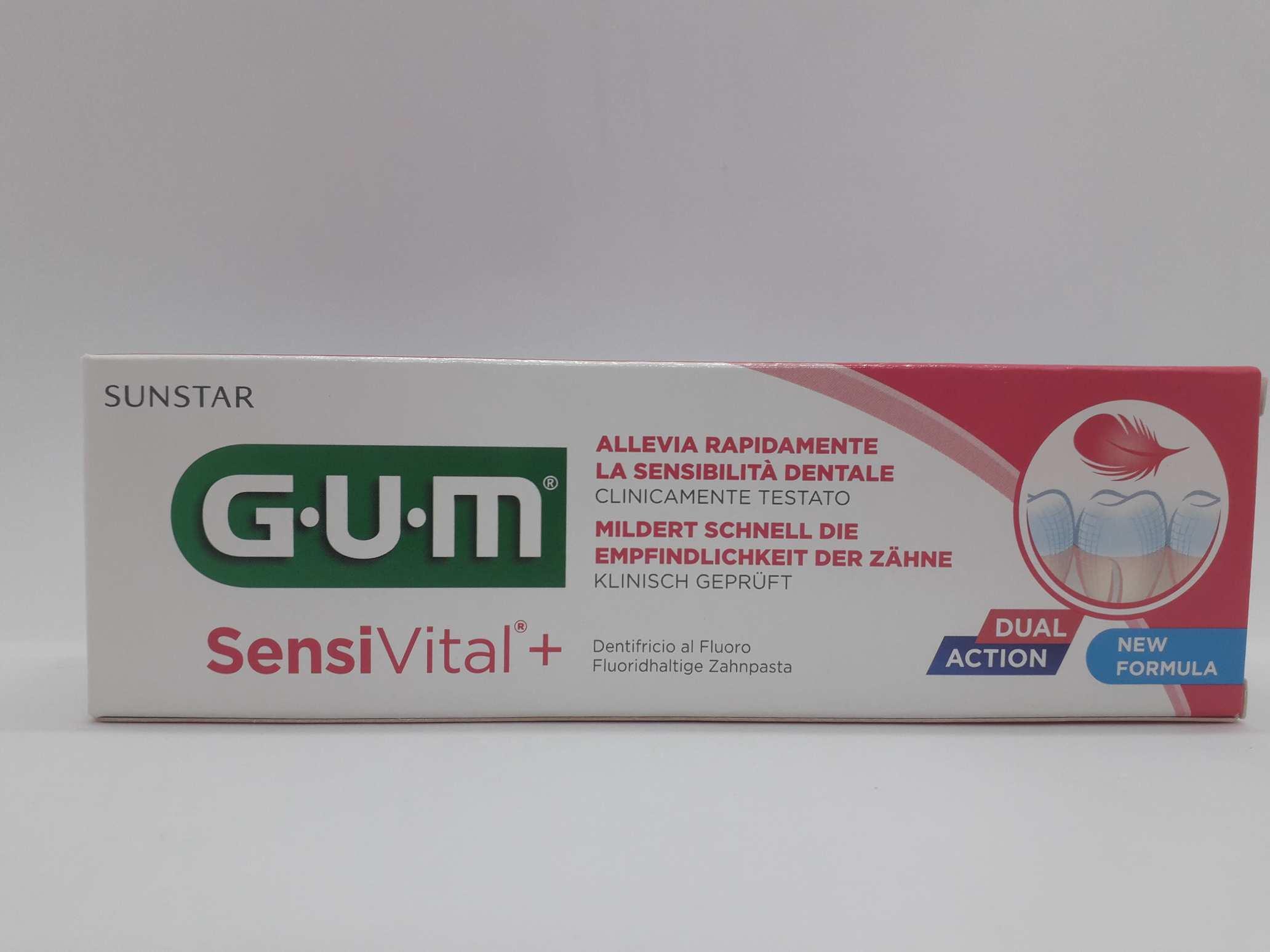 GUM SENSIVITAL + DENTIFRICIO 75 ML - Farmaciaempatica.it