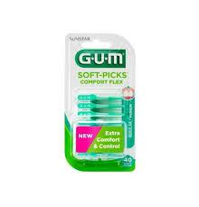 GUM SOFT PICK COMFORT FLEX SCOVOLINO INTERDENTALE 40 PEZZI - farmaciafalquigolfoparadiso.it