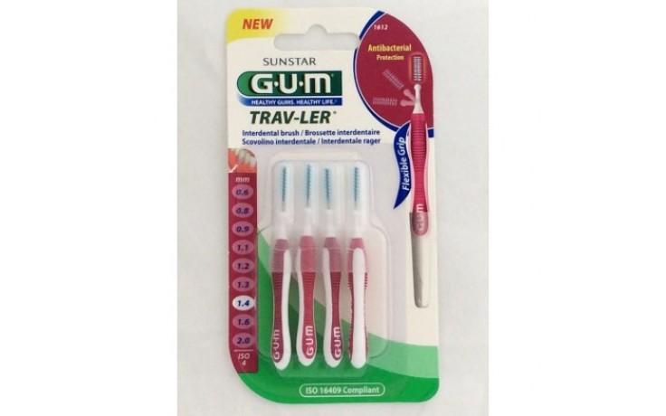 Gum Trav-Ler 1612 Scovolino 1,4 mm 6 Pezzi - Farmalilla