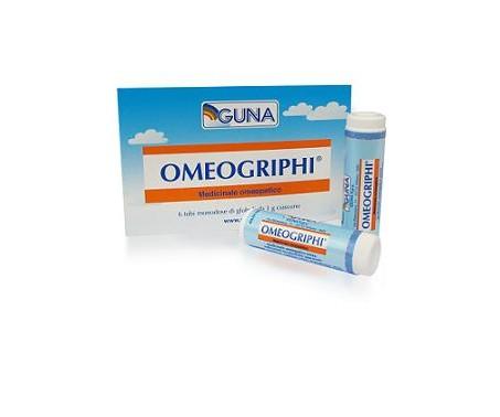 Guna Omeogriphi Globuli 6 Tubi Da 1g - Farmapage.it