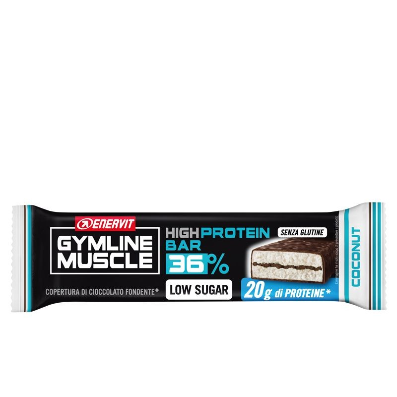 ENERVIT GYMLINE 20G PROTEIN BAR LS COCONUT 55 G - Farmaconvenienza.it