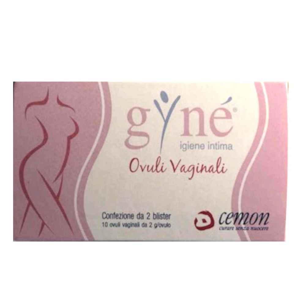 GYNE' OVULI VAGINALI 10 OVULI 20G - Farmacia33