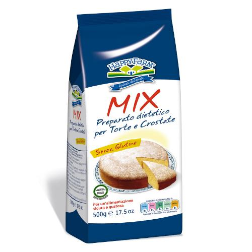 HAPPY FARM MIX TORTE CROSTATE 6 PEZZI 500 G - Farmawing