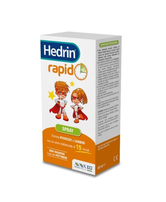 HEDRIN RAPID SPRAY 60ml - Farmapage.it