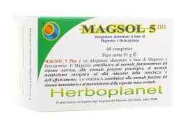 MAGSOL 5 PLUS 60 COMPRESSE - Farmastar.it