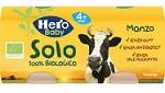 HERO SOLO OMOGENEIZZATO MANZO 100% BIO 2X80G - Farmajoy