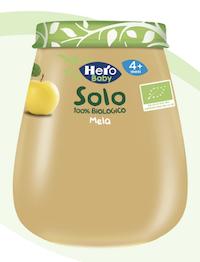 Hero Baby Solo Omogeneizzato Mela 120g - Arcafarma.it