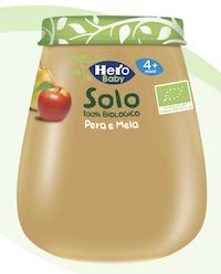 Hero Baby Solo Omogeneizzato Pera e Mela 120g - Arcafarma.it