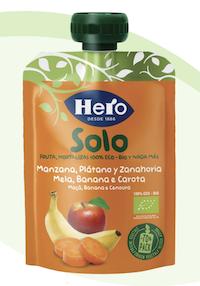 Hero Baby Solo Pouch Mela Banana Carota 100g - Arcafarma.it