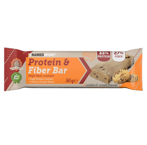 HIGH FIBER BAR COOKIES & CREAM 50 G (scade 31/8/2020) -