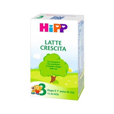HIPP 3 LATTE CRESCITA 500 G - Nowfarma.it