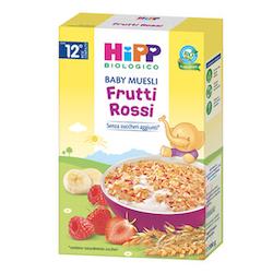 Hipp Baby Muesli Frutti Rossi 200g