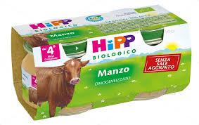 HIPP BIO HIPP BIO OMOGENEIZZATO MANZO 2X80 G - Farmawing