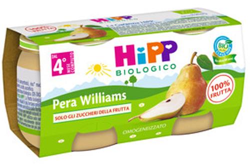 HIPP BIO OMOGENEIZZATO PERA WILLIAMS 2 X 80 G - Farmacia Centrale Dr. Monteleone Adriano