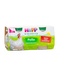 HIPP BIO HIPP BIO OMOGENEIZZATO POLLO 2X80 G - Farmawing