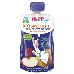 HIPP BIO SMOOTHIE MELA, PERA E MIRTILLO  - Iltuobenessereonline.it