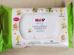 HIPP CARTA IGIENICA UMIDIFICATA 1X50 PEZZI - Farmajoy