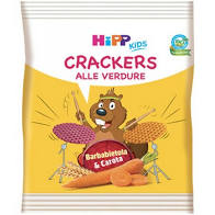 HIPP BIO CRACKERS VERDURE 25 G - Farmajoy