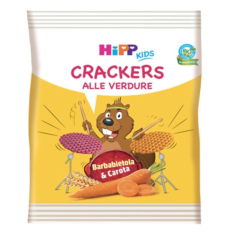 HIPP CRACKERS VERDURE BARBABIETOLA E CAROTE  25 G - Iltuobenessereonline.it
