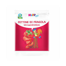 HIPP BIO FETTINE DI FRAGOLA 10 G - Farmajoy