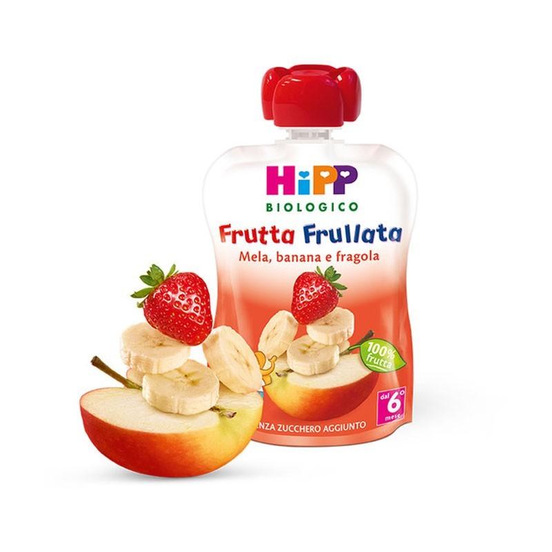 HIPP FRUTTA FRULL MELA, BANANA E FRAGOLA - Iltuobenessereonline.it