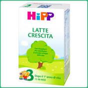 HIPP LATTE 3 CRESCITA POLVERE 500 G - farmaciafalquigolfoparadiso.it