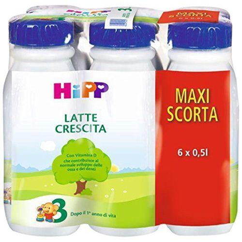 HIPP LATTE CRESCITA 3 LIQUIDO MAXI SCORTA 6PZ - Iltuobenessereonline.it