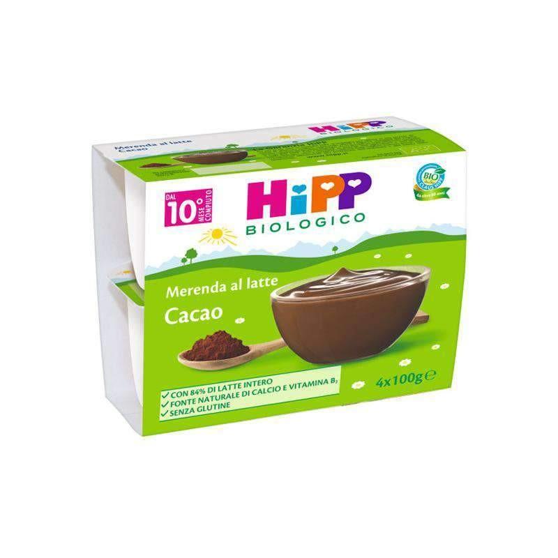 Hipp Merenda al Latte con Cacao 4 x 100g - Arcafarma.it