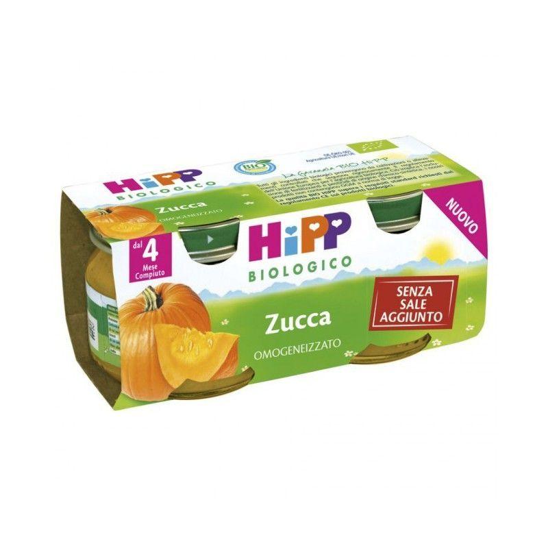 HIPP OMOGENIZZ ZUCCA 2X80G - Iltuobenessereonline.it