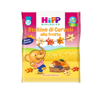 HIPP BIO STELLINE DI CEREALI ALLA FRUTTA 30 G - DrStebe