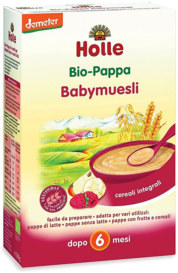 Holle Bio Baby Muesli 250g - Sempredisponibile.it
