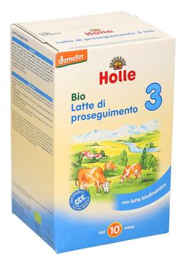Holle Bio Latte di proseguimento 3 600 gr - Iltuobenessereonline.it