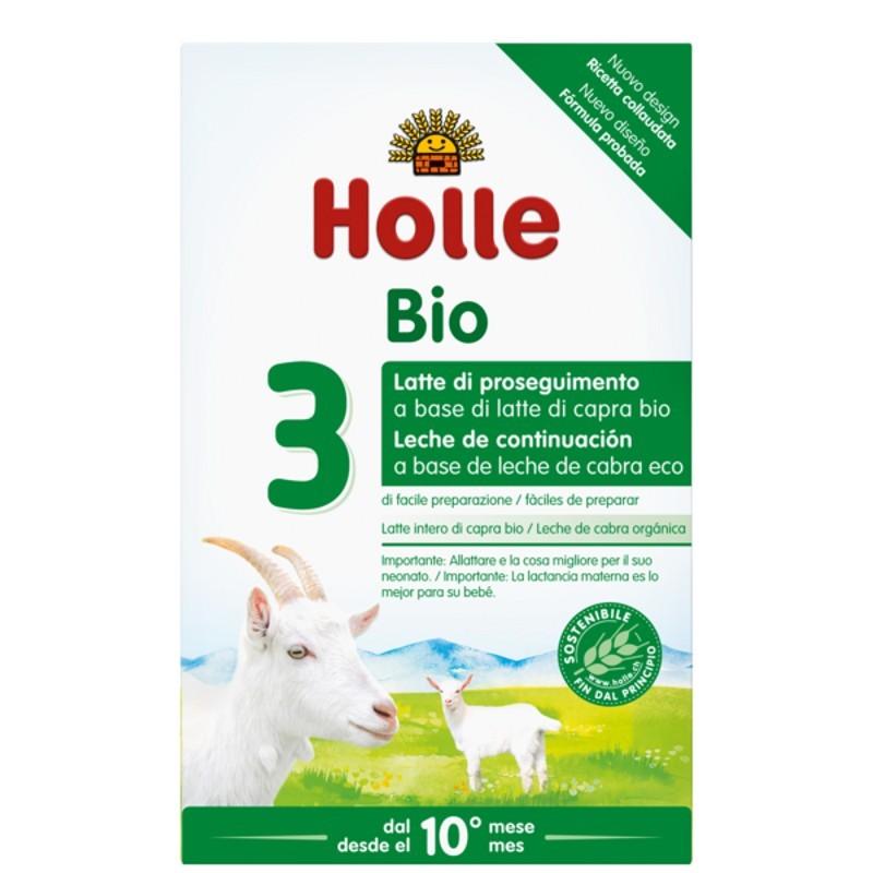 Holle Latte per Lattanti 3 a base di Latte di Capra Bio  - Iltuobenessereonline.it