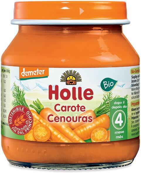 HOLLE OMOGENIZZ CAROTE 125 GR - Iltuobenessereonline.it