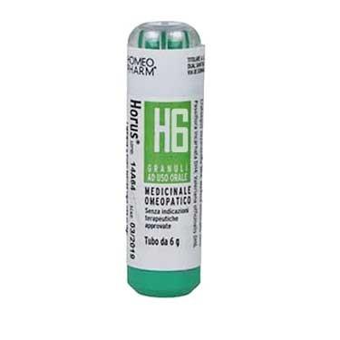 Homeopharm Horus H6 Granuli - Farmacento