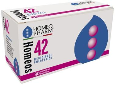 HOMEOS 42 GLOBULI 30 TUBI - Farmaciacarpediem.it