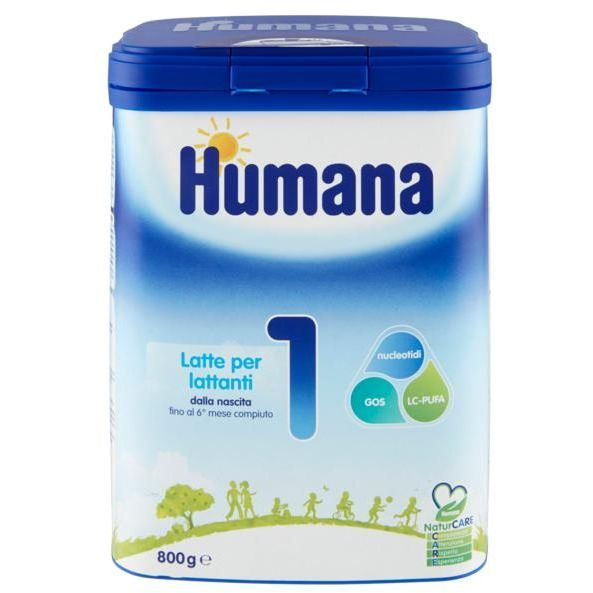 HUMANA 1 Latte in Polvere 800G - Iltuobenessereonline.it