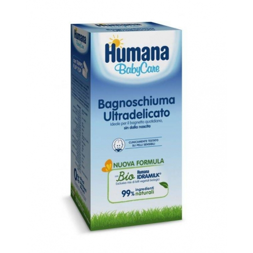 HUMANA BABY CARE BAGNOSCHIUMA 200 ML - Farmafamily.it