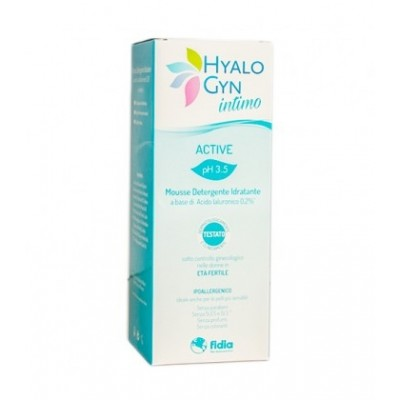 HYALO GYN INTIMO MOUSSE ACTIVE 200 ML - Farmacento