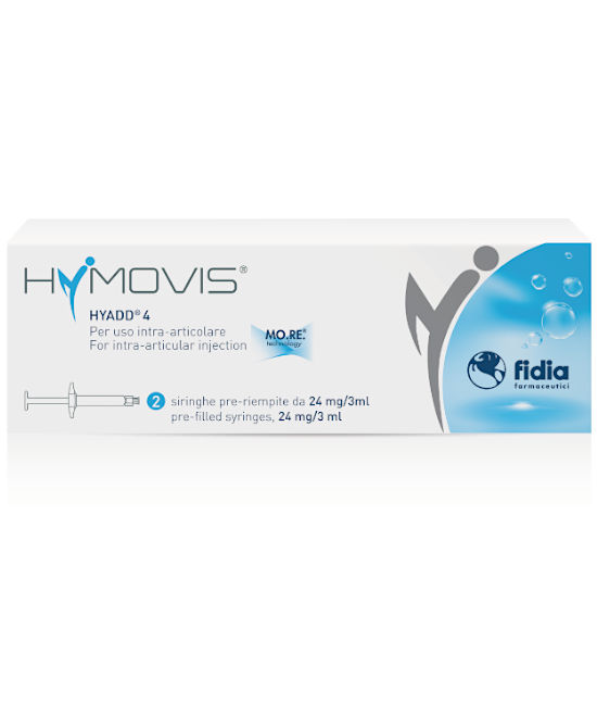 Hymovis Siringhe 24mg 3ml 2 Pezzi - Farmaci.me