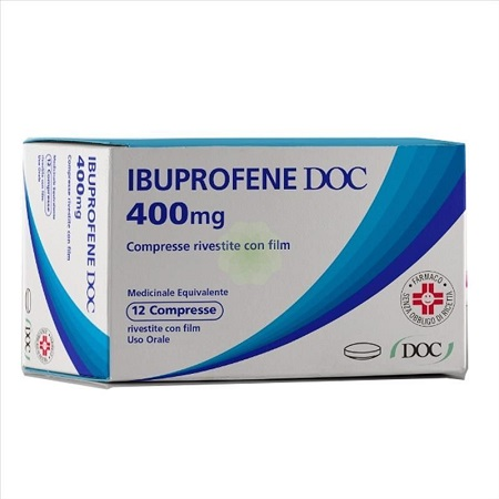 IBUPROFENE DOC*12CPR RIV 400MG - Farmafamily.it
