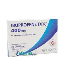 IBUPROFENE DOC*12CPR RIV 400MG - Farmajoy