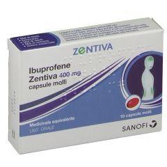Ibuprofene Zentiva 400mg 10 Capsule - Arcafarma.it