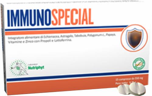 IMMUNOSPECIAL 15 COMPRESSE 7,5 G - Farmacia Centrale Dr. Monteleone Adriano