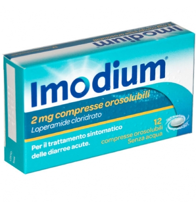 IMODIUM 12 CPR OROSOLUBILI 2MG - Farmapage.it