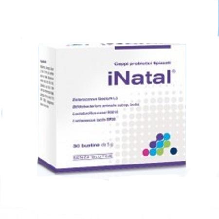 iNatal 30 Bustine Integratore Probiotici Fermenti Lattici Pharmextracta - Farmastar.it