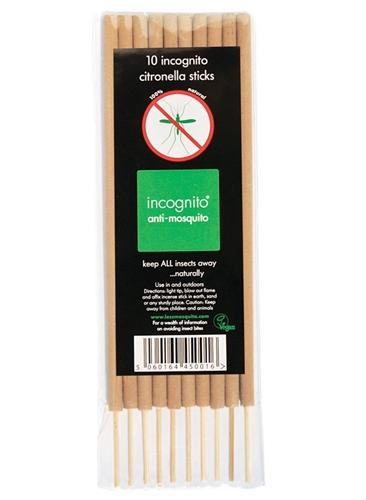 Incognito Anti-Mosquito Incenso 10 Bastoni - Iltuobenessereonline.it