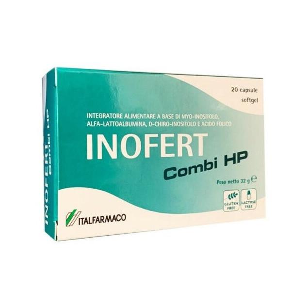 INOFERT COMBI HP 20 CAPSULE SOFT GEL - Parafarmacia la Fattoria della Salute S.n.c. di Delfini Dott.ssa Giulia e Marra Dott.ssa Michela