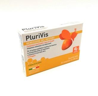 PLURIVIS PROPOLI ARANCIA 20 COMPRESSE - pharmaluna